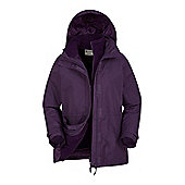 Mountain Warehouse Fell Womens 3 in 1 Water-Resistant Jacket - Purple
