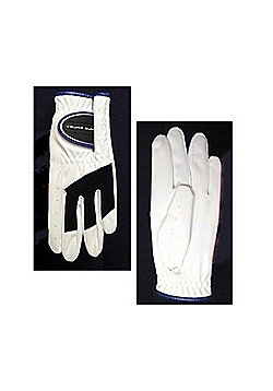 Young Gun All Weather Junior Left Hand Golf Glove - White