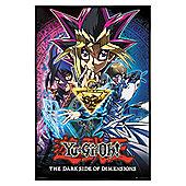 Yu-Gi-Oh Gloss Black Framed Yu Gi Oh! DSOD Poster 61x91.5cm