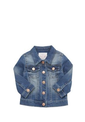 F&F Denim Jacket Blue 12-18 months