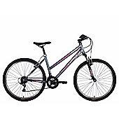 "Tiger Mistral 26"" Wheel Mountain Bike Graphite Pink"