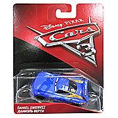 Disney Pixar Cars 3 Diecast - Daniel Swervez