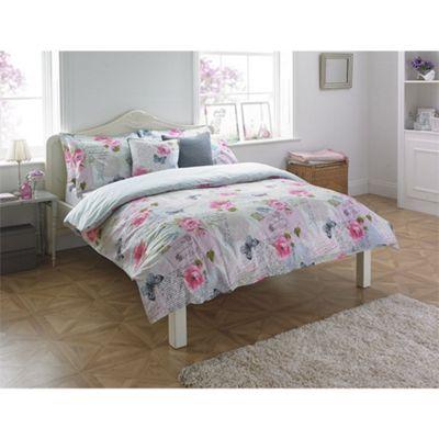 Riva Home Rosebery Multicolour Duvet Cover Set - Double