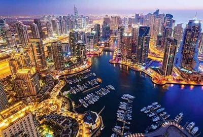 Dubai at Night - 1000 pieces Puzzle