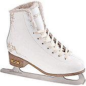 SFR Glitra Ice Skates - White
