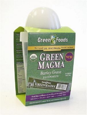 Green Foods Green Magma 10 sachets + shaker - 10 x 3g
