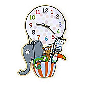 Barnabou Serie Golo Childs Kids Wall Clock Horloge En Ballon Hot Air Balloon HOR006