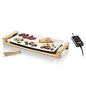 Teppanyaki Electric Table-top Ceramic Grill with Adjustable Thermostat