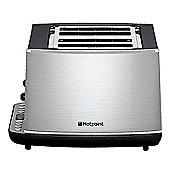 Hotpoint TT44EAX0UK Stainless Steel 4 Slice Digital Toaster