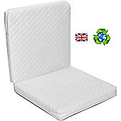 PreciousLittleOne Quilted Folding Travel Cot Mattress (119x59)