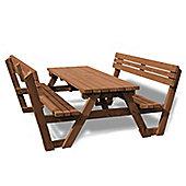 Lyddington picnic bench - 7ft