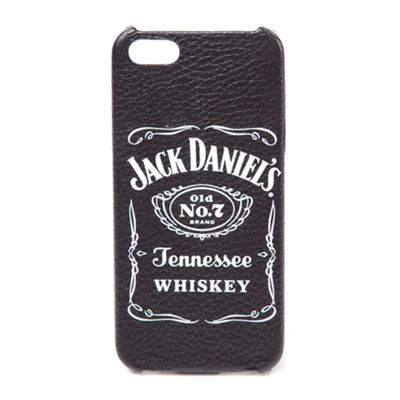Jack Daniels DANIEL'S Old No.7 Brand Logo Leather Phone Cover for Sams...
