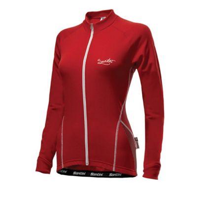 FW 2161 75 MONEL - Santini Ladies Monella Long Sleeve Jersey Red Large