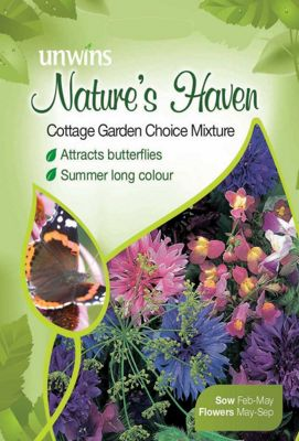 Natures Haven Cottage Garden Choice Mixture