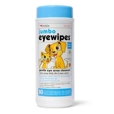 Petkin Jumbo Eye Wipes 80 Pack