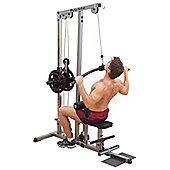 Body-Solid Pro-Lat Machine (Plate Loading)