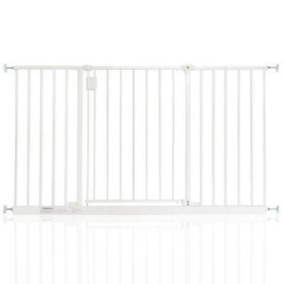 Safetots Extra Wide Hallway Gate White 128 - 134cm