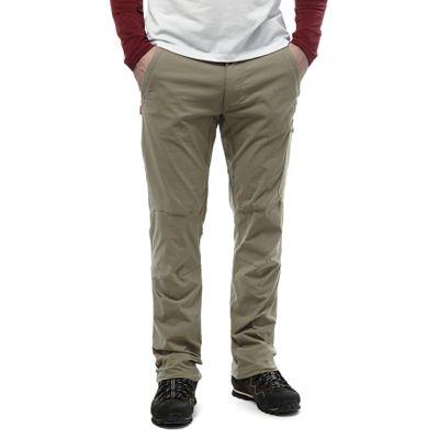 Craghoppers Mens NosiLife Pro Trousers Pebble 30 Regular Leg