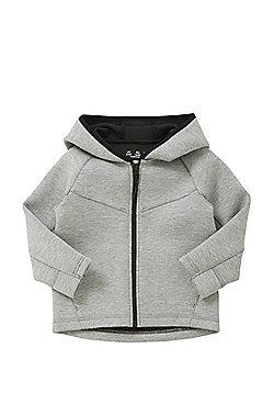 F&F Scuba Zip-Through Hoodie - Grey