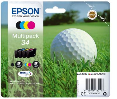 Epson Multipack 4-colours 34 DURABrite Ultra Ink
