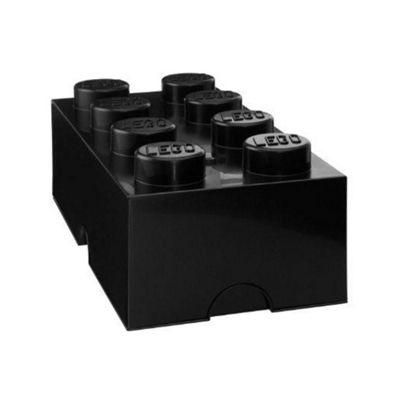 Lego Storage Brick Box 8 - Black