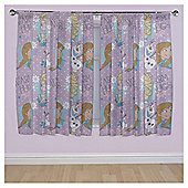 """Disney Frozen Anna, Elsa and Olaf Curtains W168xL183cm (66x72"""")"""