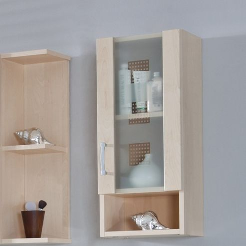 Posseik Nizas 68 x 30cm Upper Wall Cabinet - High Gloss White - Bordeaux