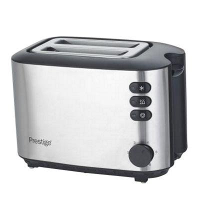 Prestige 59901 Brushed Stainless Steel 2 Slice Toaster - Silver