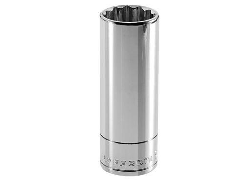 Facom Bi-Hexagon Deep Socket 1/2in Drive 30mm