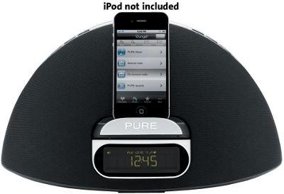 PURE CONTOUR 100Di DAB/FM RADIO WITH iPOD/iPAD/iPHONE DOCK