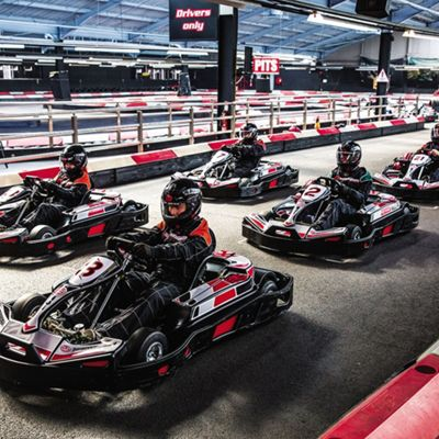 Indoor Karting Race for Two
