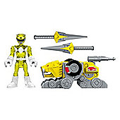 Imaginext Power Rangers Battle Armor Ranger Yellow