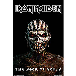 Iron Maiden The Book Of Souls Poster