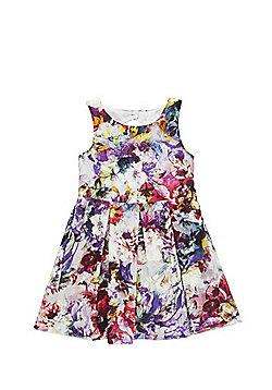 F&F Digital Floral Print Prom Dress - Multi