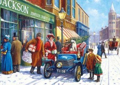 Family Christmas Shop - XXL100pc Puzzle