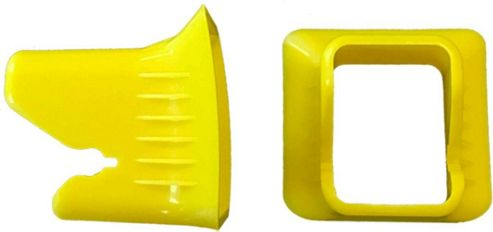 Kiddy Isofix Connector Guides (Yellow)
