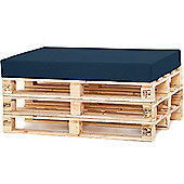 Water Resistant Pallet Seat Cushion - Navy