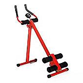 Homcom Power Plank Abs Fitness Roman Chair Core Cruncher Workout Trainer