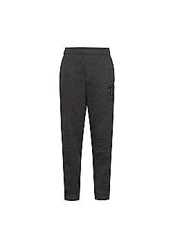FC Barcelona Boys Slim Fit Jog Pants - Grey