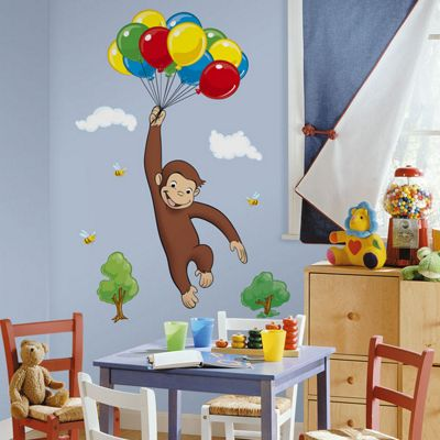 Wall Stickers - Giant Curious George