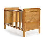 OBaby Tiny Tatty Teddy Deluxe Cot Bed - Country Pine