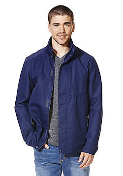 F&F Shower Resistant Ripstop Jacket - Navy