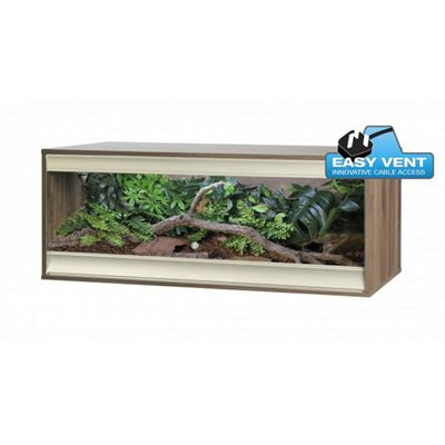 Viv-exotic Viva+ Vivarium Large - Walnut