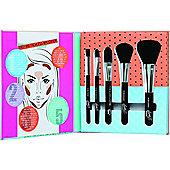 Sunkissed Beautiful Bronze Tools Of The Trade Gift Set 1 Foundation Brush + 1 Blusher Brush + 1 Contour Brush + 1 Eyeshadow Brush + 1 Crease Brush