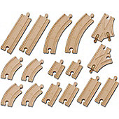 Tomy Chuggington Wooden Railway Track Pack