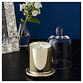 Fox & Ivy Gold & Black Vanilla Luxury Scented Filled Bell Jar Candle