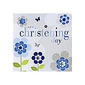 Sherbet Fizz Christening Card