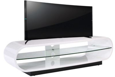 Buy Techlink Ovid Curve Tv Stand For Up To 65 Inch Tv S Brilliant