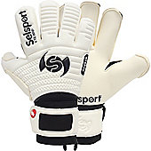 Selsport Wrappa Classic Guard Goalkeeper Gloves Size - White