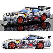 SCALEXTRIC Slot Car C3839 Team GT Lightning - Team GT Spartan (Comic book)